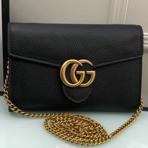 Gucci GG Black Handbag